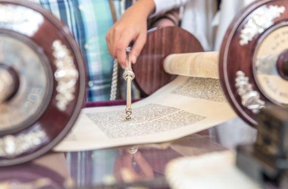 Lecture de la Torah, Séfer-Torah