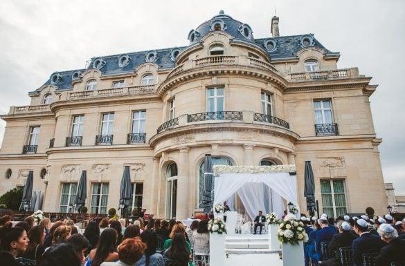 Mariage juif, cérémonie sous la 'Houpa