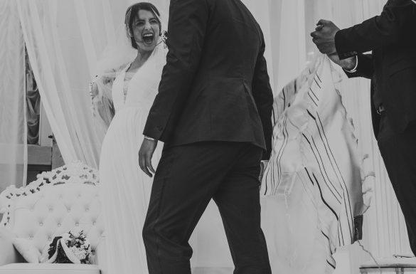 Mariage juif, bris du verre